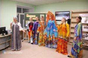 Встреча с художником-модельером Еленой Лопатухиной