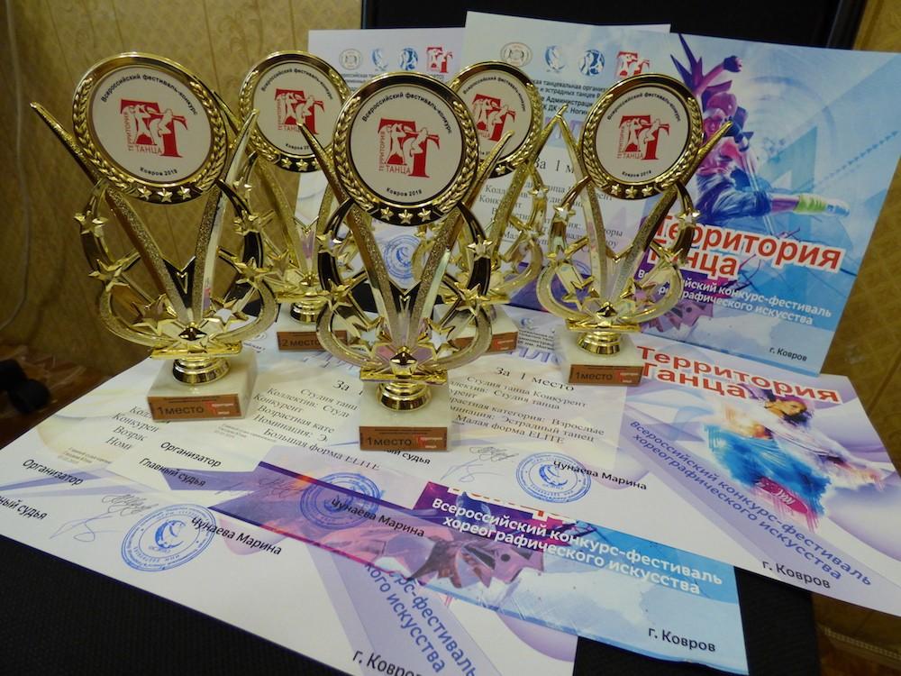 Студия танца «Конкурент» стали победителями сразу в пяти номинациях конкурса