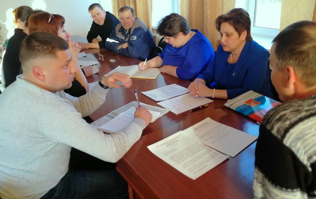 Национальный парк: Внеочередное заседание депутатов Волосатовского сельского поселения