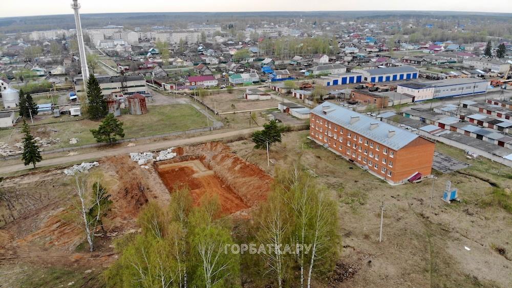 Строится новый дом