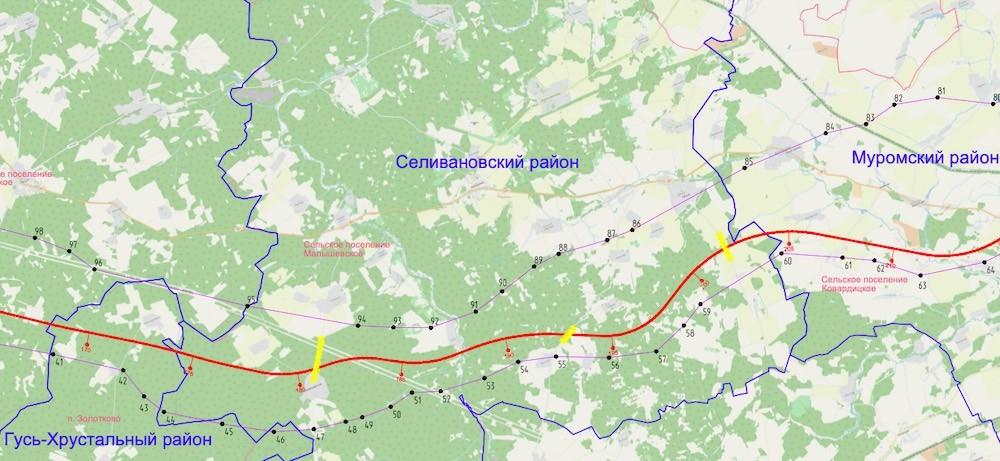 Скоростная трасса пройдет мимо Селивановского района