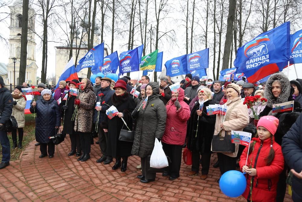 В Суздале отметили День народного единства
