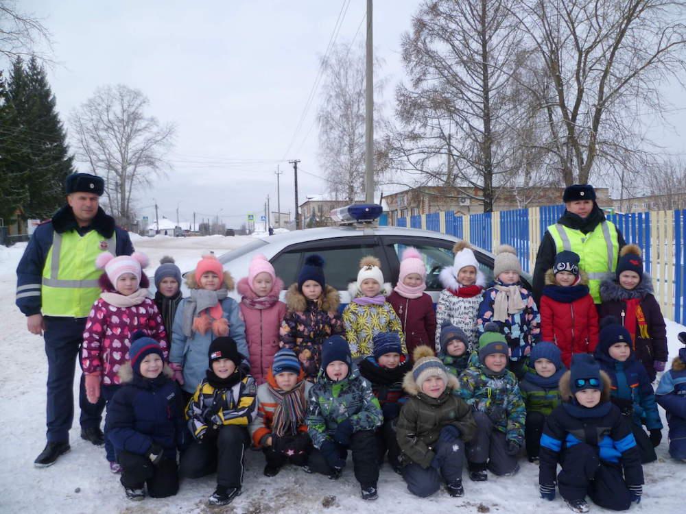 Дошкольникам о безопасности дорожного движения
