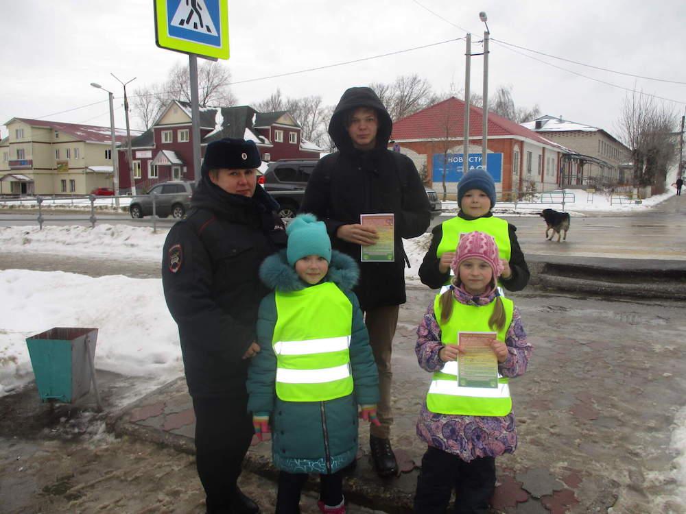 Работа с отрядом ЮИД «Светофор»