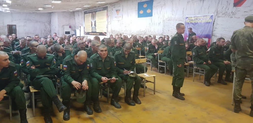 Месячник занятий по правовому просвещению военнослужащих военной прокуратурой Владимирского гарнизона