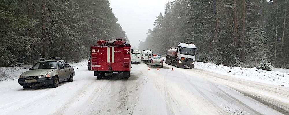 «Газель» Селивановского АТП попала в аварию