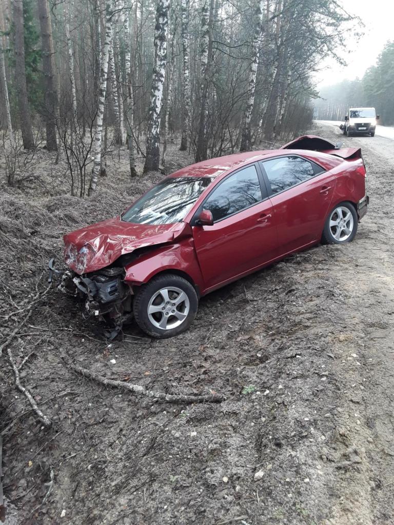 Три машины попали в аварию