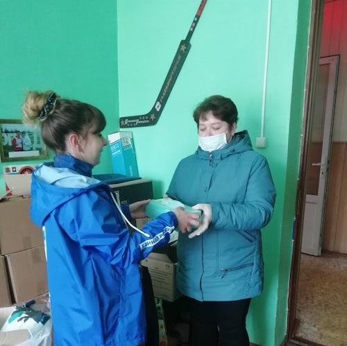 Волонтеры продолжают работу