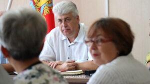 Глава администрации Селивановского района Сергей Лебедев встретился с представителями районного Общества инвалидов