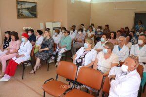 Селивановские медики принимают поздравления с профессиональным праздником