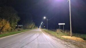 В Новлянке вновь включили уличное освещение