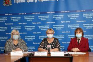 В областной администрации прошёл онлайн-брифинг по текущей эпидситуации в регионе