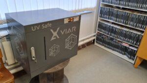 Селивановская районная библиотека приобрела 3 бокса для обеззараживания книг